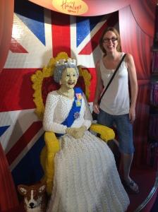 The Queen at Hamleys